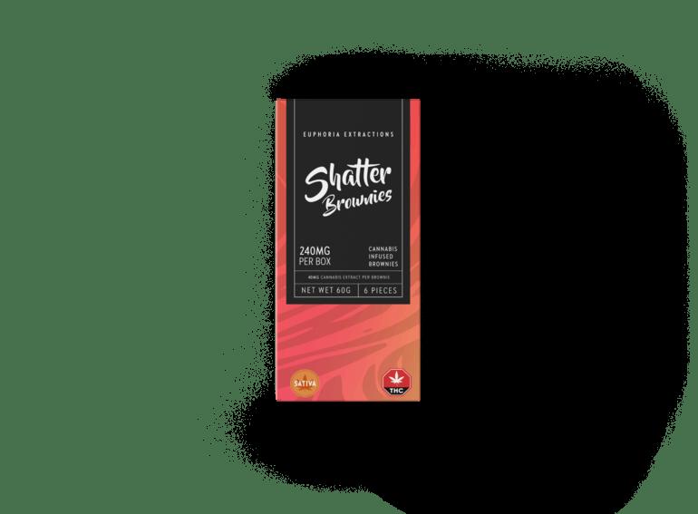 Sativa Shatter Brownies
