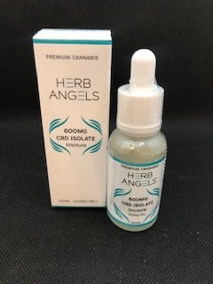 *New* Herbs Angels 600mg CBD Isolate Tincture $40